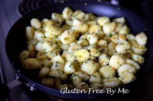 Garlic Sauteed Gnocchi
