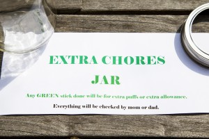 Extra Chore Jar